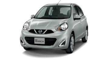 Rent Nissan March Gray Com025
