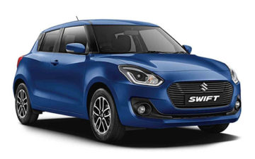 Rent Suzuki Swift Blue Com005