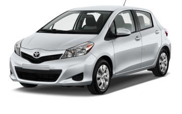 Rent Toyota Vitz Gray Com002