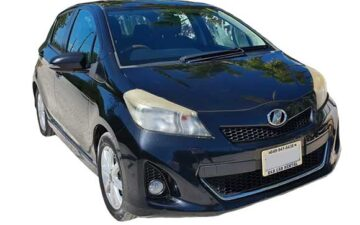 Rent Toyota Vitz Black Com023