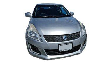 Rent Suzuki Swift Black Com004