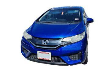 Rent Honda Fit Blue Com014