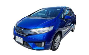 Rent Honda Fit Blue Com018