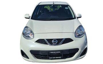 Rent Nissan March White Com032