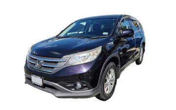 Rent Honda CRV Black Suv007