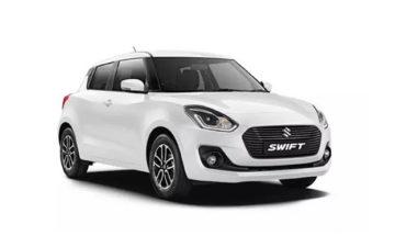 Rent Suzuki Swift White Com006