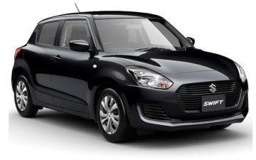 Rent Suzuki Swift Black Com009