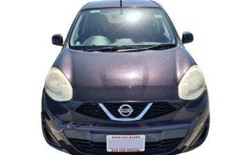 Rent Nissan March Purple Com017