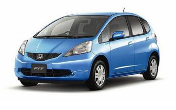 Rent Honda Fit Blue Com019