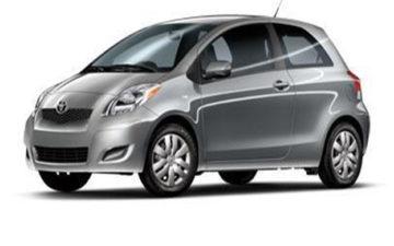 Rent Toyota Vitz Gray Com022