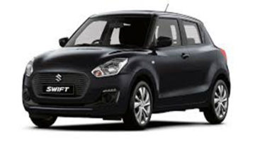Rent Suzuki Swift Black Com024