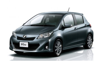 Rent Toyota Vitz Gray Com029
