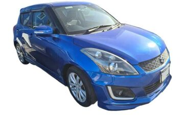 Rent Suzuki Swift Blue Com033