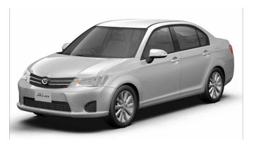 Rent Toyota Corolla Axio Ms003