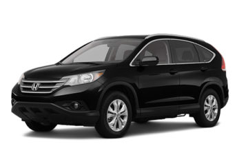 Rent Honda CRV Black Suv007