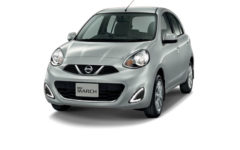 Nissan March Gray Com025