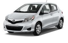Toyota Vitz Gray Com002