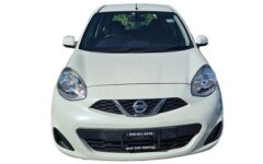 Nissan March White Com032