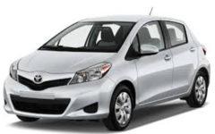 Toyota Vitz Silver Com027
