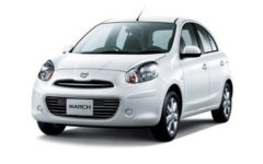 Nissan March White Com010